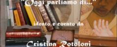 Video rubrica 'Oggi parliamo di…' dedicata a me a cura di Cristina Rotoloni